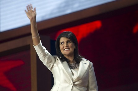South Carolina Gov. Nikki Haley (Chris Maddaloni/CQ Roll Call file photo)
