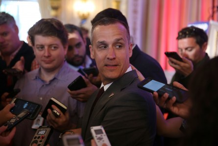 Lewandowski, campaign manager for Republican presidential candidate Donald Drumpf, is under a microscope. (Joe Raedle/Getty Images)