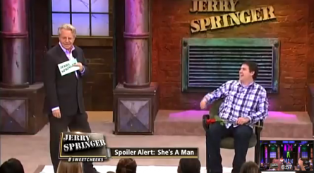 the jerry springer show flash