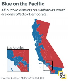 West Coast Wasteland Why The GOP Struggles In California - Calif map