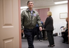 Joe Sestak, who's running in a rematch against Sen. Pat J. Toomey, is an admiral.   (Scott J. Ferrell/CQ Roll Call File Photo)