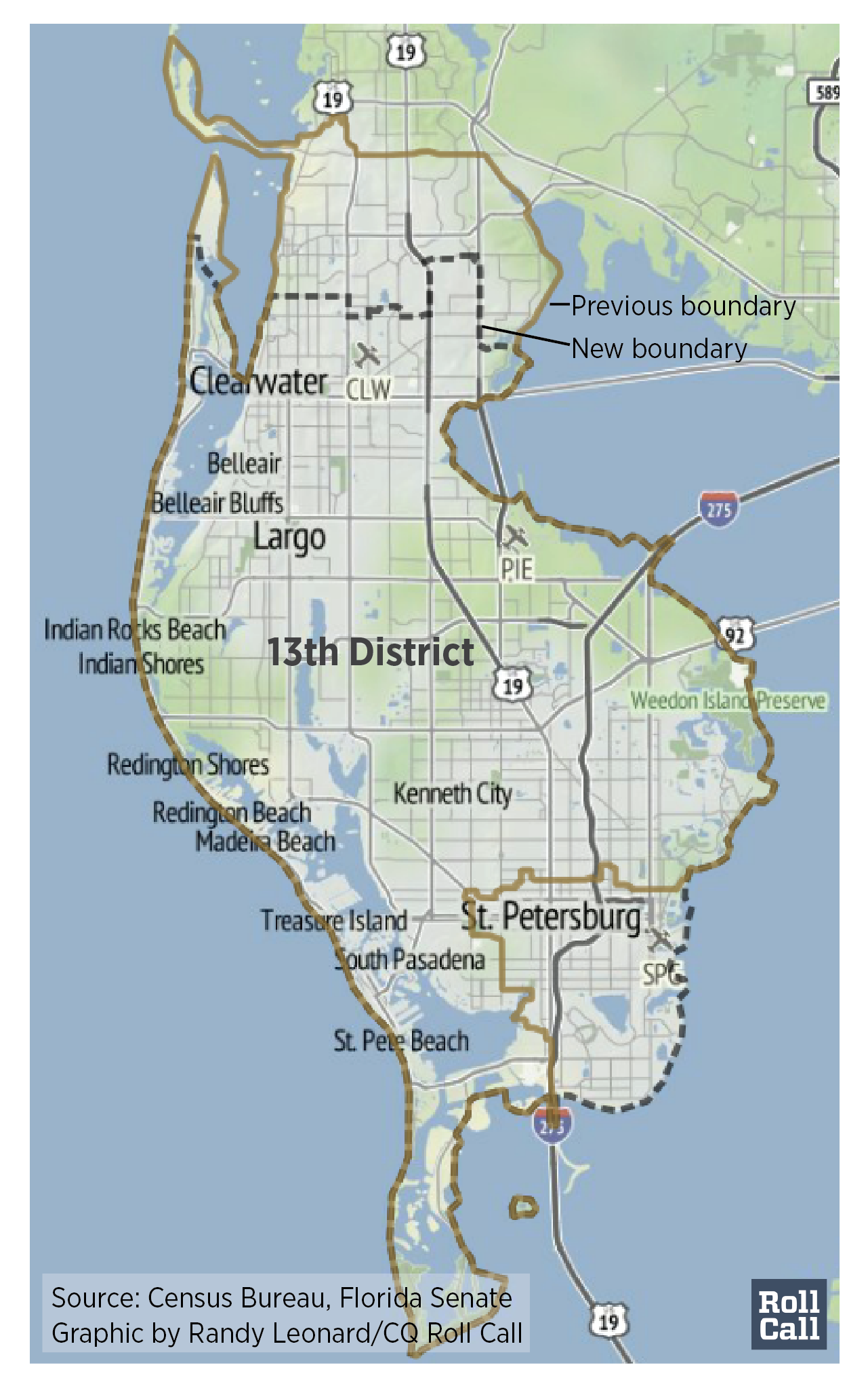Democrats Likely To Bank Trio Of GOP House Seats - Florida map madeira beach