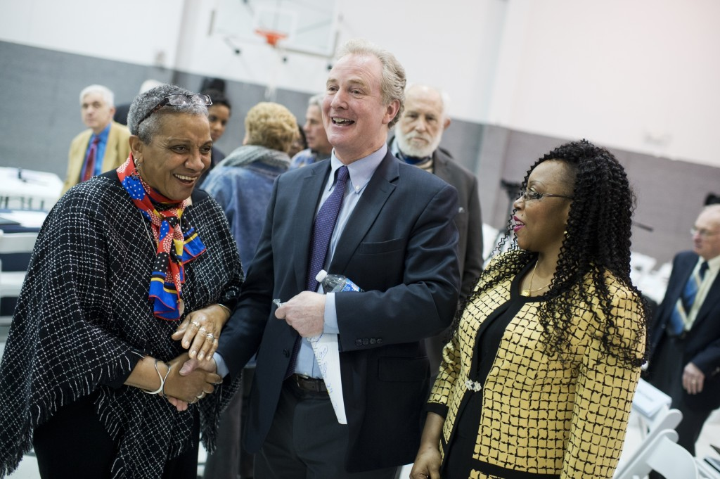 Rep. Chris Van Hollen, D-Md., after a Maryland Senate candidate forum.(Photo By Tom Williams/CQ Roll Call)