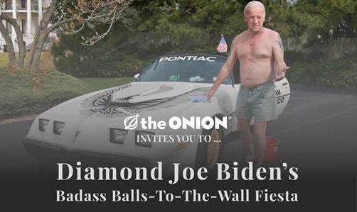 (Photo courtesy of the Onion)