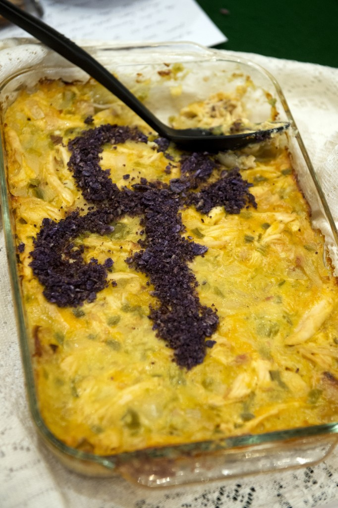 "Rep. Keith Ellison's entry, titled ""Chicken and Rice& Hotdish"" honored Minnesota favorite son Prince. (Tom Williams/CQ Roll Call)"