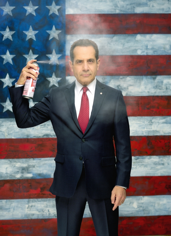 "Tony Shalhoub as Sen. Red Wheatus on CBS' BrainDead (Courtesy BrainDead/<a href=""http://www.cbs.com/shows/braindead/photos/1006488/sneak-peek-photos-of-the-braindead-cast/110630/tony-shalhoub-as-senator-raymond-red-wheatus-/"" target=""_blank"">CBS</a>)"
