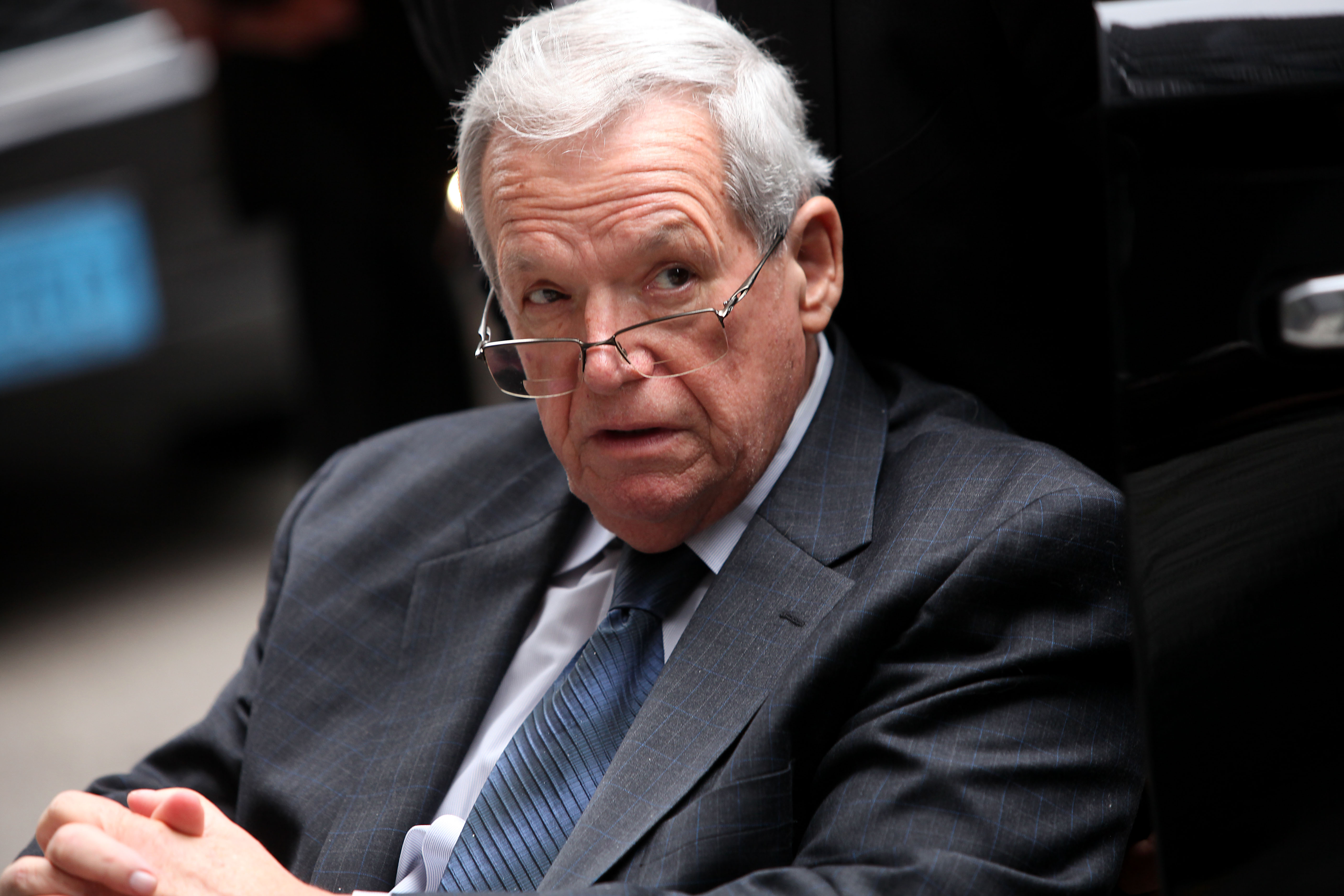 Imprisoned Hastert Wants Judge to Throw out Victim's Civil Suit