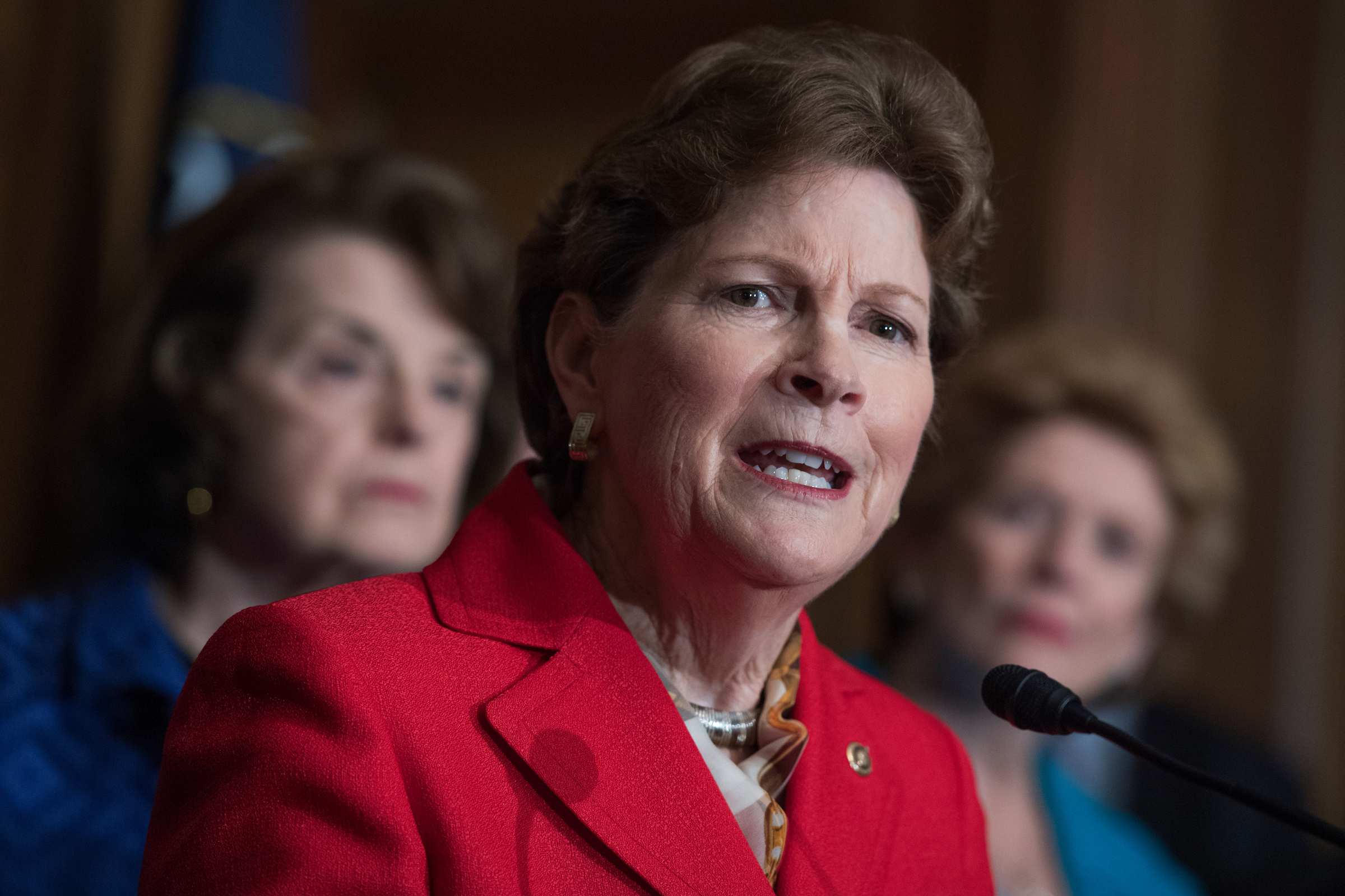 New Hampshire Sen. Jeanne Shaheen wants to reauthorize and expand a visa program for Afghans who assisted U.S. forces and fear retribution from the Taliban. (Tom Williams/CQ Roll Call file photo)