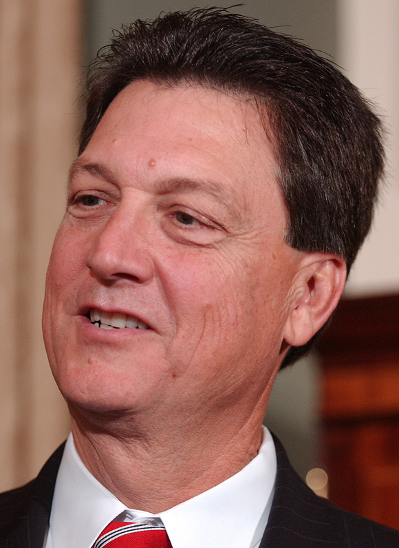 Westmoreland shortly after being elected to Congress in 2005. (CQ Roll Call File Photo)
