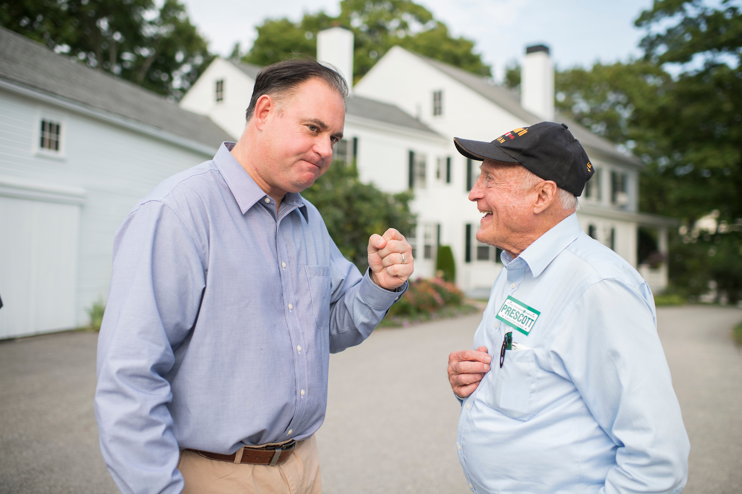 "Former state Rep. David Scott, right, calls Guinta's FEC woes ""a tempest in a teapot."" (Tom Williams/CQ Roll Call)"