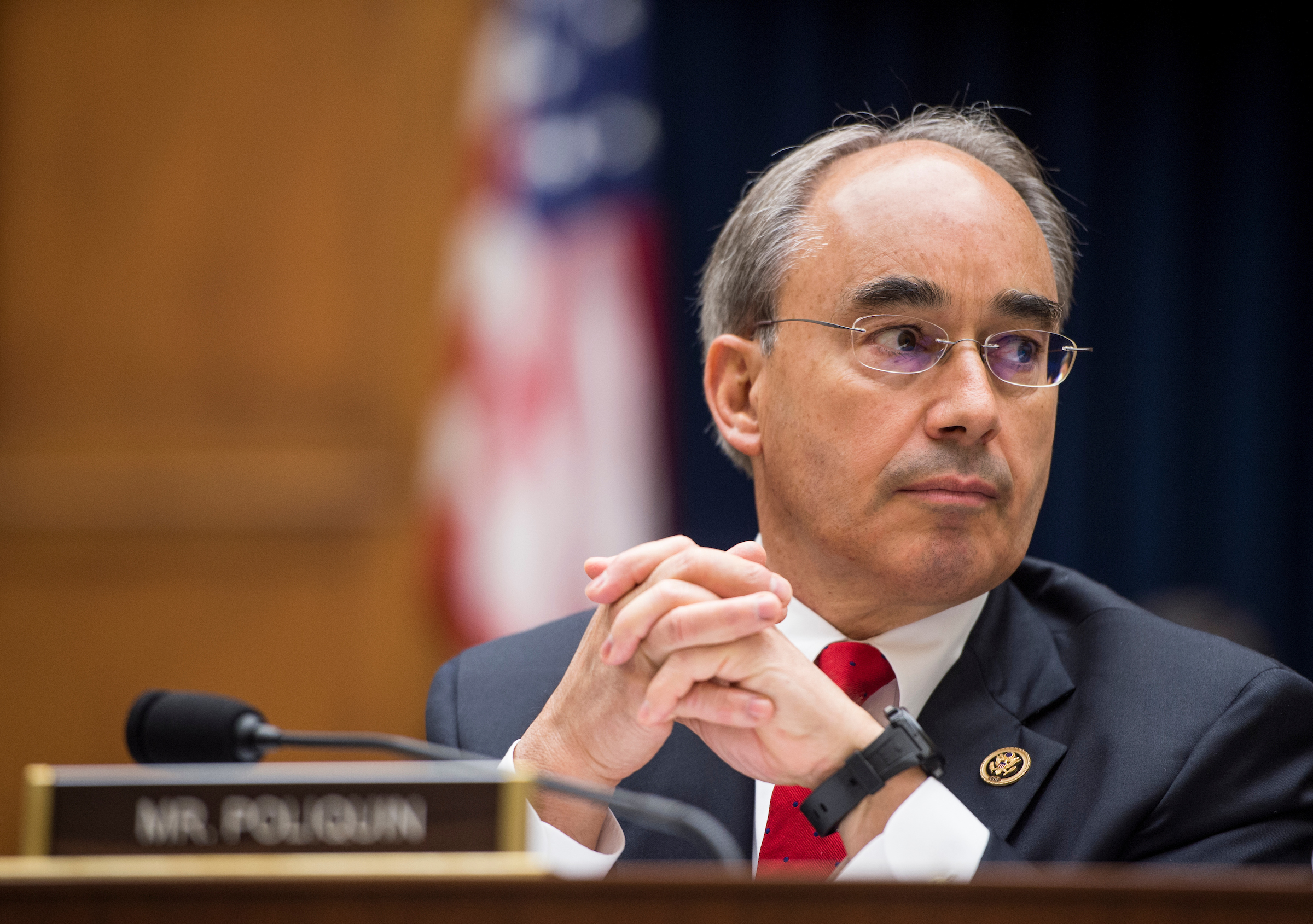 Rep. Bruce Poliquin is one of the most vulnerable GOP incumbents. (Bill Clark/CQ Roll Call File Photo)