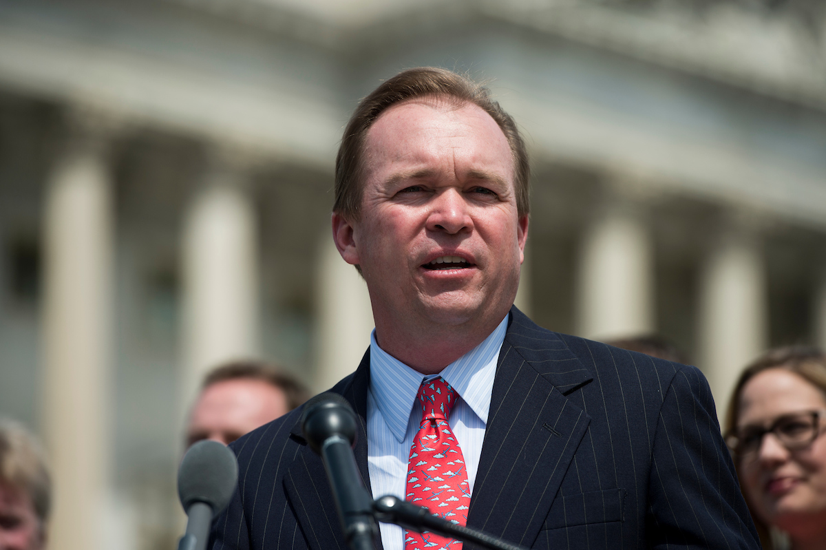 "South Carolina Rep. <a class=""memberLink"" title=""Click to view member info in a new window"" href=""http://data.rollcall.com/members/31499?rel=memberLink"" target=""_blank"">Mick Mulvaney</a> has been a beneficiary of President-elect Donald Trump's campaign donations. (Bill Clark/CQ Roll Call file photo)"