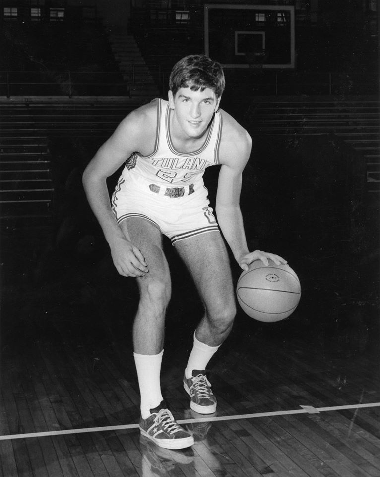 Alabama Sen. Luther Strange played basketball at Tulane University. (Courtesy Luther Strange Facebook page)