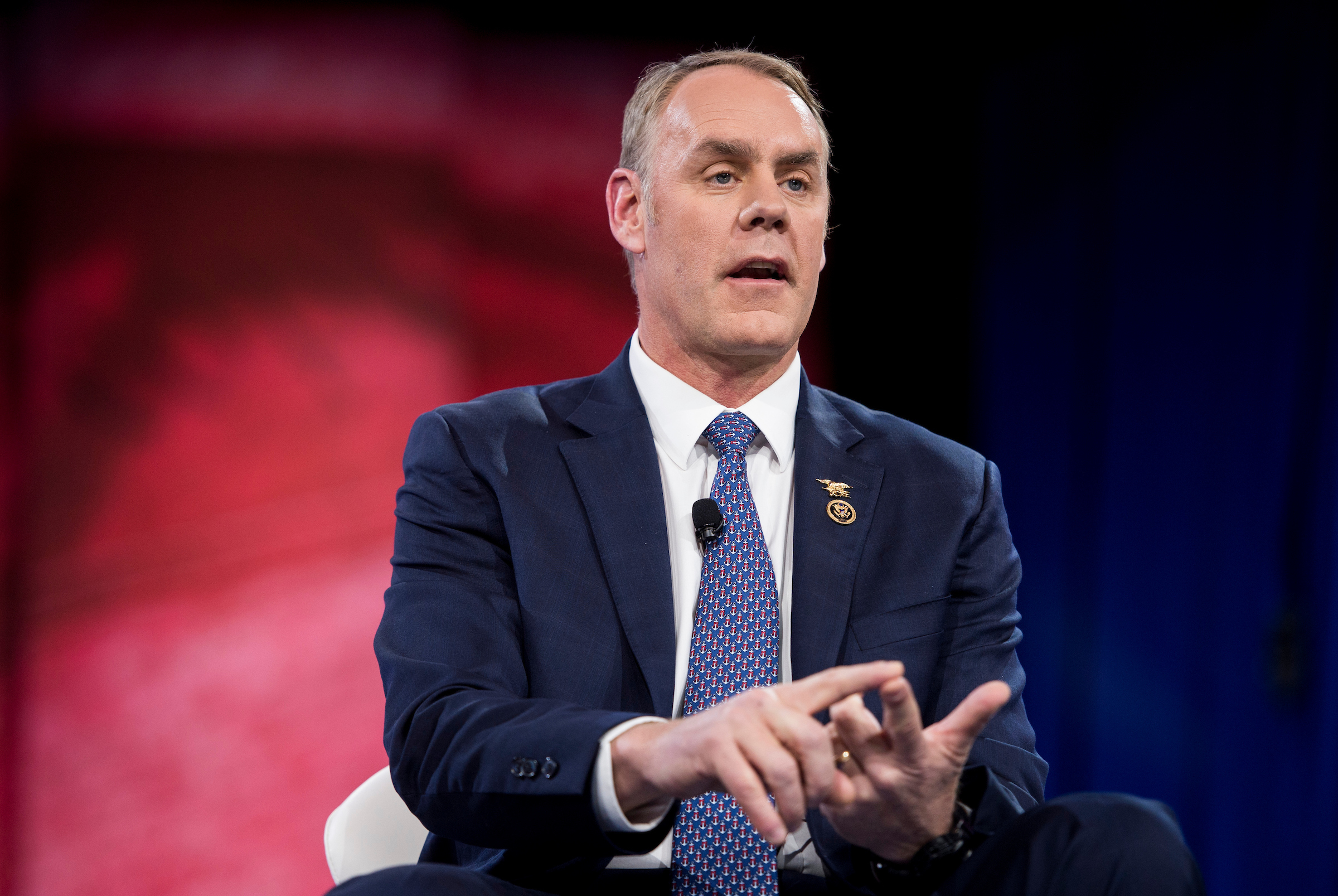 Rep. Ryan Zinke, R-Mont., is expected to resign from his seat after he is confirmed as secretary for the Department of the Interior, creating a fourth House GOP vacancy from cabinet confirmations. (Photo By Bill Clark/CQ Roll Call file photo)