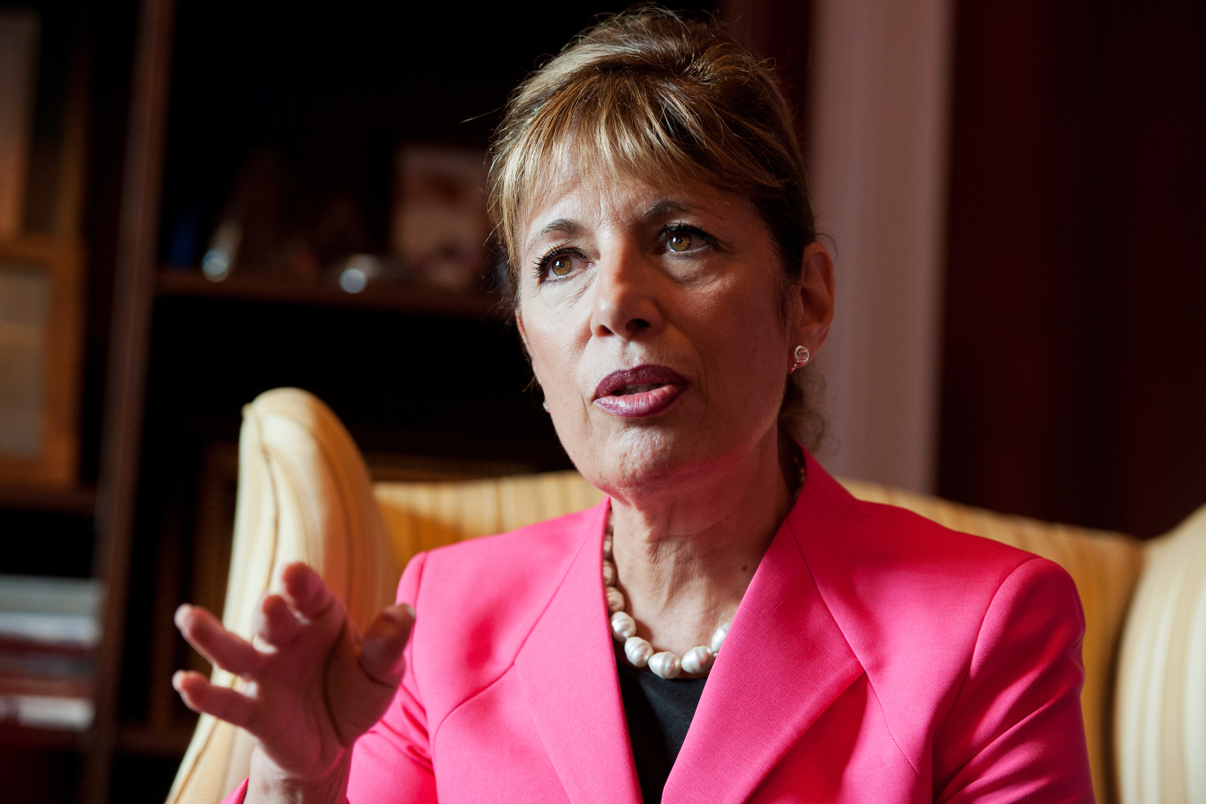 "California Rep. <a class=""memberLink"" title=""Click to view member info in a new window"" href=""http://data.rollcall.com/members/28222?rel=memberLink"" target=""_blank"">Jackie Speier</a> also heard complaints about sexual harassment as a state assemblywoman in the 1980s. (Tom Williams/CQ Roll Call file photo)"