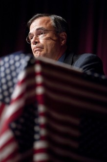 D.C. activists encourage people to boycott vacation spots in Rep. Andy Harris' district for the July Fourth holiday. (Bill Clark/CQ Roll Call File Photo)