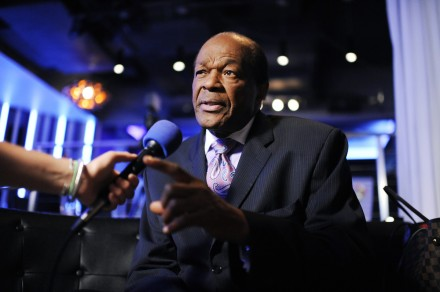 Marion Barry interviewed about his book at an event in D.C. He Died Sunday at age 78. (Tom Williams/CQ Roll Call File Photo)