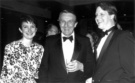 Bumpers, center, with daughter Brooke and son Bill. (Laura Patterson/CQ Roll Call File Photo)