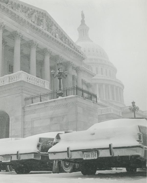 """""""Cap Snow Storm"""" 2/6/1978, Credit: M. Senka"""