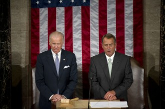 Biden and Boehner will each face uncomfortable moments as the pope speaks. (Douglas Graham/CQ Roll Call File Photo)