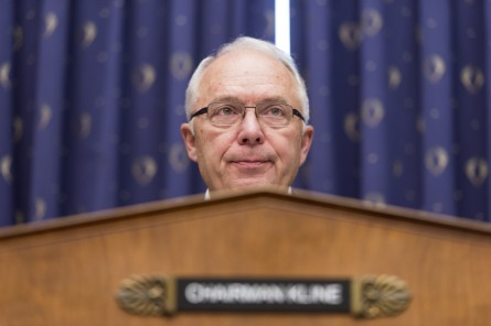Kline is among the Republicans who might be forced to hand over a gavel given self-imposed term limits. (Bill Clark/CQ Roll Call File Photo)