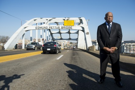 Lewis, injured in the Bloody Sunday march, has urged the bridge's name to remain. (Bill Clark/CQ Roll Call File Photo)