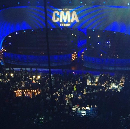Living the dream at the CMA Awards. (Courtesy Kurt Bardella)