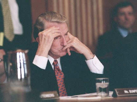 7-21-98.FY99 APPROPRIATIONS--Dale Bumpers,D-Ark.,during the Senate Foreign Operations mark up..CONGERESSIONAL QUARTERLY PHOTO BY DOUGLAS GRAHAM