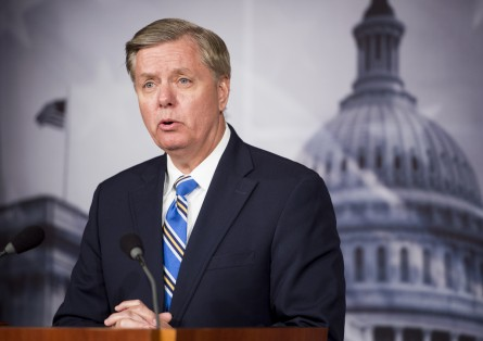 graham 125 042213 445x314 Ghosts of the Old Senate Chamber Leave Mark on Nuclear Option Deal