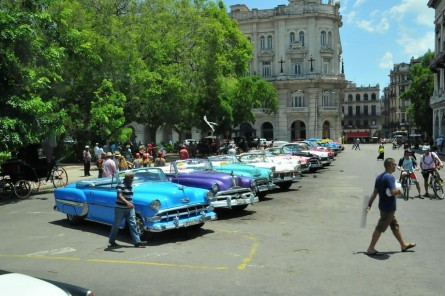 A scene on the streets of Havana. (Courtesy Sen. Leahy)