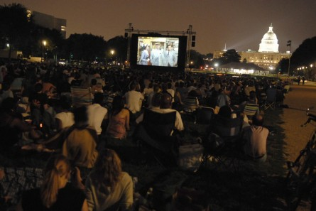 Screen on the Green offers a unique D.C. experience. (CQ Roll Call File Photo.)
