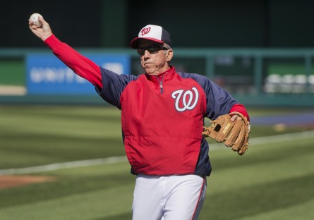 Nats outgoing skipper Davey Johnson is one of a kind. (Tom Williams/CQ Roll Call File Photo.)