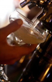 Proseco on tap? Yes please! (Tom Williams/CQ Roll Call.)