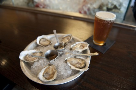 The wages of football: Oysters and beer. (Douglas Graham/CQ Roll Call file photo.)