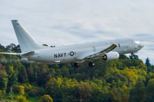 The 18th Navy P-8A departs from Seattle for NAS Jacksonville. (Boeing photo)