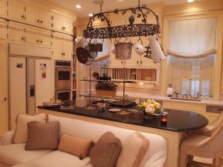 D. Bradley's gourmet kitchen