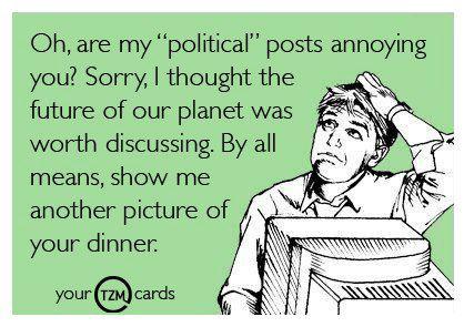 Pro-political posts promo