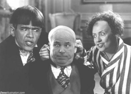 Obama, McCain, Clinton stooges