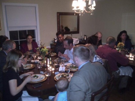 McCaskill-Blunt staff dinner