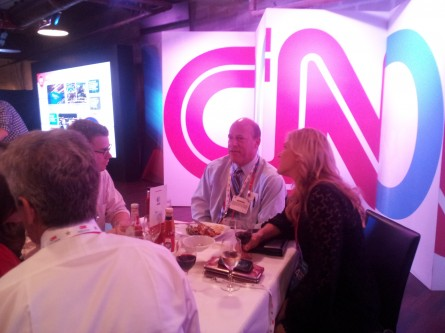 Ari Fleischer at CNN Grill in Tampa