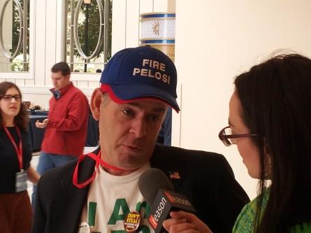 Fire Pelosi cap