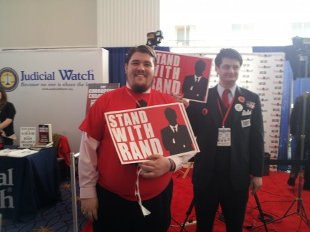 Stand with Rand supporters