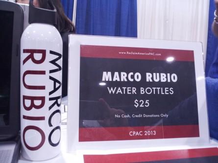 Marco Rubio water bottle