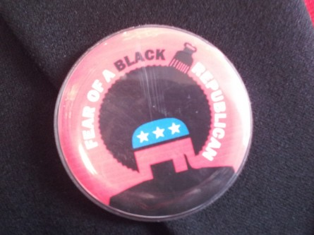 Black Republic pin