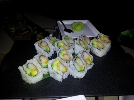 Drewno's tempura sushi