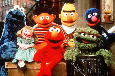 SESAME STREET MUPPETS - Cookie Monster, Ernie, Bert etc. (COPYRIGHT 1997 CTW SESAME STREET MUPPETS. COPYRIGHT 1997 HENSON PRODUCTIONS)