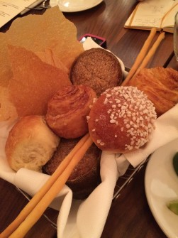 Housemade breads include [XYZ]