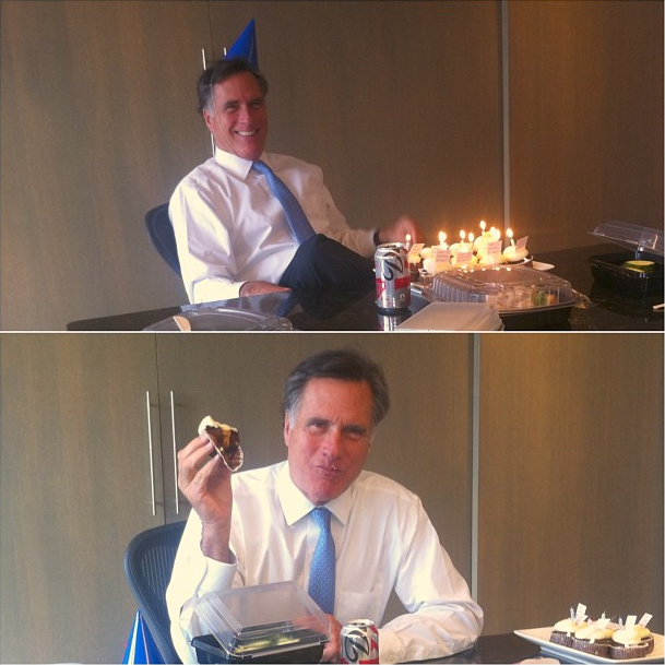 Mitt Romney birthday
