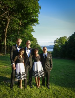 The couple resides in Cold Spring, NY and have three children together, Reinel (24), Daley (13) and Essie (11) | Photo courtesy of the Maloney campaign.