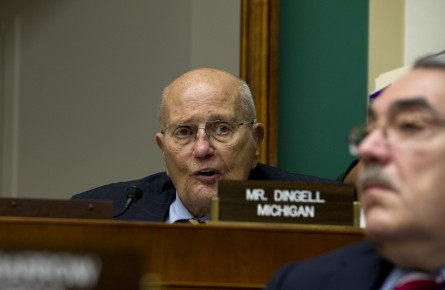 Rep. John Dingell joked about his age at the LUNGevity gala. (Douglas Graham/CQ Roll Call File Photo.)